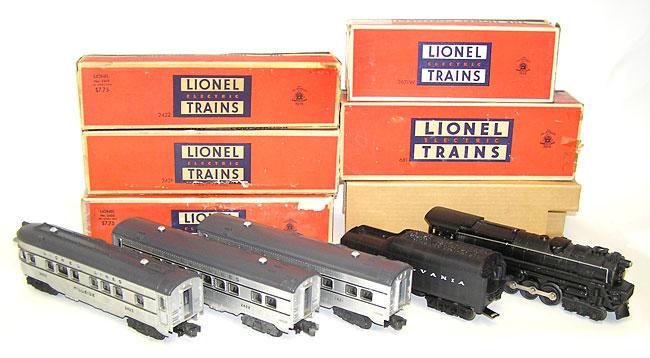 Nice Lionel No 2150ws 1950 Passenger Set 681 2671w