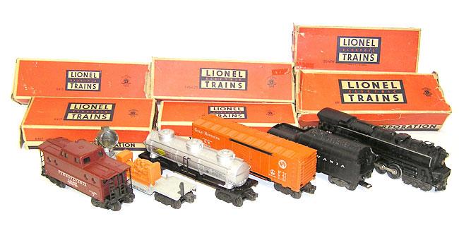 Lionel Train Set No 2203WS 681 2046WX 6464 25 3520