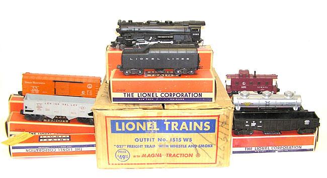 Lionel Train Set 1515ws 2065 Loco 2046w 6415 6456