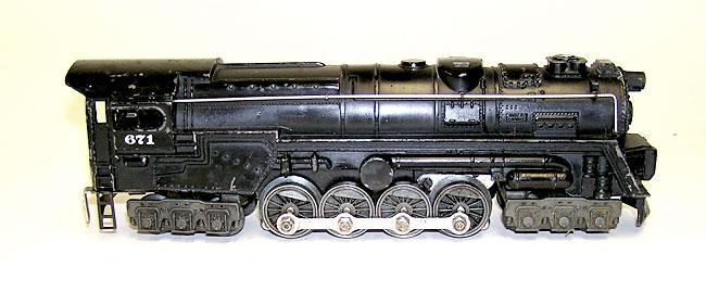 1946 Lionel No 671 Steam 6 8 6 Locomotive Nice