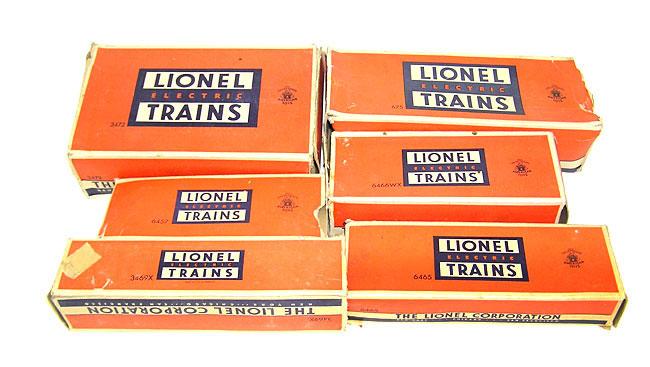 lionel train set no  2147ws  675  6466wx  6462  6457