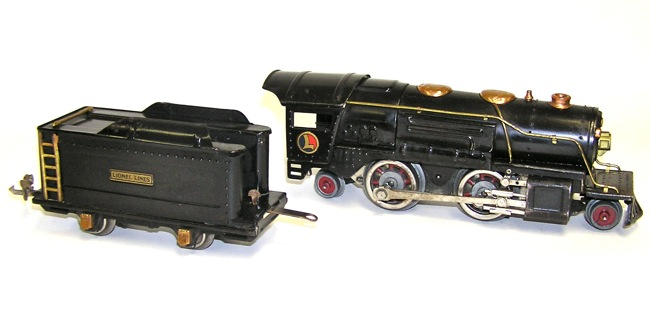 Lionel Prewar O Gauge Passenger Set 259 Engine 603 604
