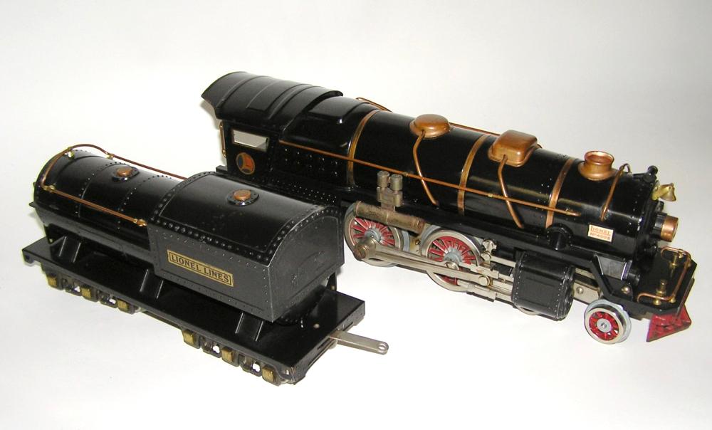 Lionel Standard Gauge Black No  400E Loco & Tender