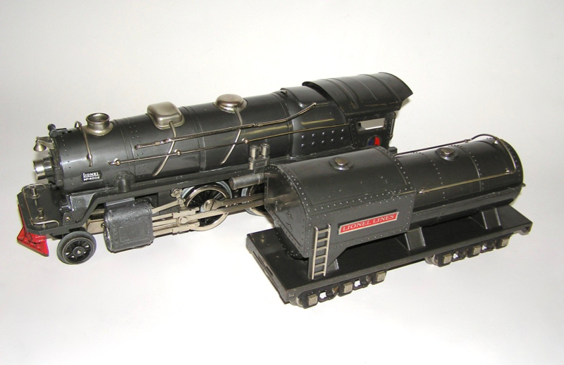 Lionel Gun Metal Gray Standard Gauge 400E Locomotive Engine
