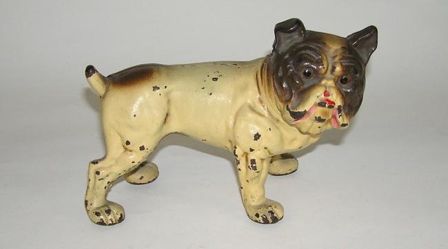 Hubley Cast Iron English Bull Dog Doorstop Original Lg. NO RESERVE  (DAKOTApaul) - Hubley Cast Iron English Bull Dog Doorstop Original Lg. NO RESERVE