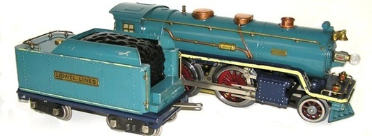 Thumbnail image for Lionel Standard Gauge Blue Comet Set