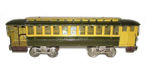 "Scarce Early Lionel ""8″ Trolley"